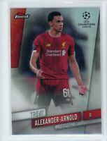 2020 Trent Alexander Arnold Topps Finest UEFA Champions League Refractor