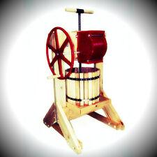 Pioneer Cider Press & Grinder Apple Wine Crusher Fruit Grapes Happy Valley Ranch