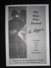 "SIGNED ""The Man Who Hunted Jack The Ripper"" Card, Nicholas Connell/Stewart Evans"