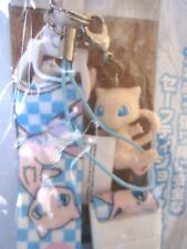 POKEMON Mew Neck Strap Figure TOMY Japan Pokedoll New