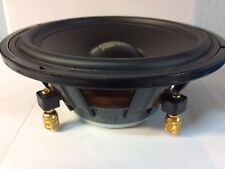 """Juego altavoces woofer 6,5"""" 165mm-Chasis aluminio - 100W"""