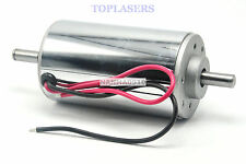 300W DC Motor Chrome CNC Air Cool Brush Spindle 12000RPM 12V-48V 52mm Gearmotor