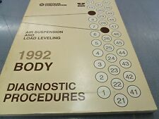 1992 Chrysler Body Air Suspension & Load Leveling Diagnostic Procedures