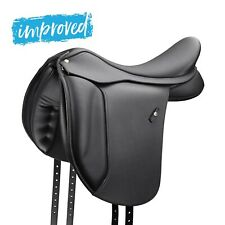 """Wintec 500 WIDE Dressage Adjustable Synthetic Saddle Black With HART 16-18"""" NEW"""
