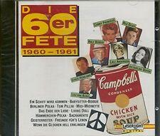 Die 60er Fete 1960-1961 Ralf Bendix, Lou van Burg, Chris Howland, Jacquel.. [CD]