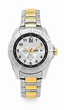 AFL Collingwood Magpies Establishment Series Two Tone Gents Watch FREE SHIPPING
