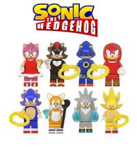 Collectible  Super Series 8 Pcs Sonic The Hedgehog Minifigure Fit Lego