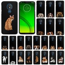 "For Motorola Moto G7 Power 6.2"" / G7 Supra Dog Design Hard Case Cover Protector"