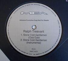"RALPH TRESVANT ~ Stone Cold Gentleman ~ 12"" Single PS PROMO"