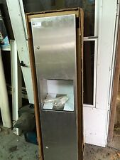 Stainless Steel 12 Gal. Capacity Waste Receptacle Combo Unit