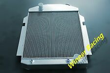 "2X1"" RADIATOR FOR CHEVY/GMC TRUCK PICKUP 1938-1940 V8 A/T W/OIL COOLER UP 1000HP"