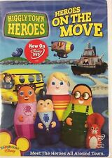 Higglytown Heroes  On the Move DVD BRAND NEW FACTORY SEALED