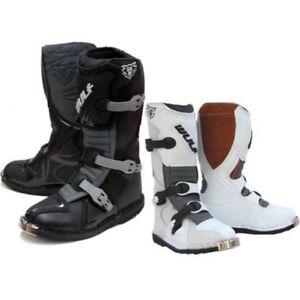 Wulfsport Motorcycle Bike Motorcross LA MX Boots Top quality Grain leather
