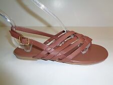 Cole Haan Size 6 M GODDARD SANDAL Brown Leather Thongs Sandals New Womens Shoes