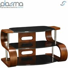 Jual Curve - Curved Walnut and glass TV Stand for up to 37''