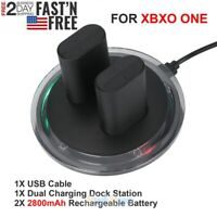 PLAY AND CHARGE KIT DOCKING STATION + 2x RECHARGEABLE BATTERIES FOR XBOX ONE & S