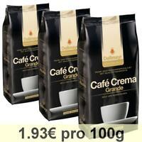 Dallmayr professionel Café Crema Grande, Café en Grains, Lot de 3, 3 x 1000g