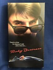 Risky Business VHS Tom Cruise