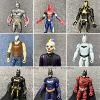 3.75'' Dc Comics Marvel Universe Legends 2009 Spider-man Batman Action Figures