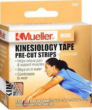 "Mueller Kinesiology Sport Tape BEIGE PRECUT ( 2"" x 9.75 "") 20 pieces ***"