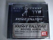 JOHNNY HALLYDAY CD LE COEUR D'UN HOMME + LIVRET SOUS SCELLE NEUF