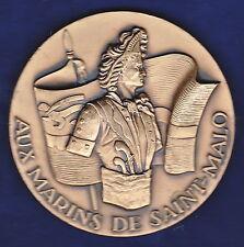 AUX MARINS DE SAINT-MALO,Médaille uniface