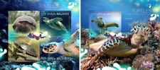 Turtles Reptiles Schildkröten Animals Marine Fauna Maldives MNH stamp set