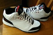 AND 1 Mens Basketball Shoes Size 7 M Black, White And Red Excellent Condition!