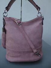Beuteltasche Handtasche Damen Tasche HoboBag Schultertasche Beutel rosa  NEU