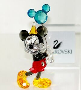 Swarovski Original Figurine Mickey & Friends Celebration 5376416 New