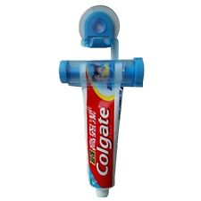 Toothpaste Dispenser Tube Tooth-paste Rolling Squeezer Sucker Hanging Holder ...