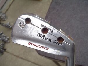 Wilson Staff Dynapower Fluid Feel 3-Iron w Holes Drilled RH Steel