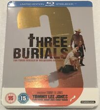 The Three Burials Of Melquiades Estrada Steelbook - UK Exclusive Ltd Edn Blu-Ray