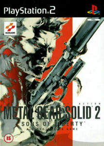metal gear solid 2 ps2 brand new sealed