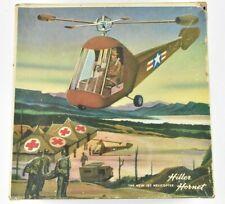 1952 Helicopters for Industry Hiller Hornet Helicopter Model Kit Complete Nib