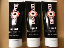 3 New Unopened 8oz Tubes of Dinovite Liquid - Nutritional Supplement for Dogs