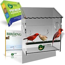 Premium Acrylic Window Bird Feeder - Eco-Friendly - Easy to Clean - Great Gift