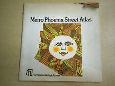 1972 1st National Bank Metro PHOENIX Street Atlas ...Pre-Thomas Bros.