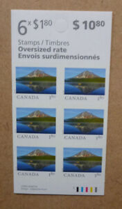 2018 CANADA FROM FAR AND WIDE STAMP BOOKLET $10.80