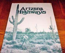 EXTREMELY RARE FEBRUARY 1930 ARIZONA HIGHWAYS -VOLUME 6- NUMBER 2- BLACK & WHITE