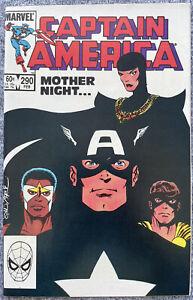 Captain America #290 1st App Mother Superior Red Skull's Daughter High Grade NM
