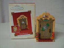 Hallmark Ornament 2003 FELIZ NAVIDAD NEW House Flowers Spanish Star Home