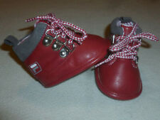 Fila Red Lace Up Baby Tennis Hi Top Shoes Size 0-6 Months