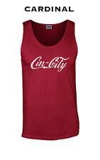 307 Cin city tank top funny Cincinnati baseball football cool funny new york hip