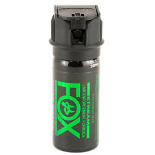 PS Fox Labs Mean Green Tactical Police 1.5oz Flip-Top Stream Pepper Spray 156MGS