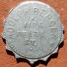 BOULDER Colorado R10 TOKEN ⚜️ Adolph Berger (SALOON?)