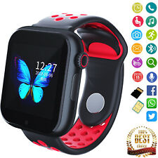 Smart Watch Bluetooth Phone Unlocked T-Mobile StraightTalk GSM SIM Call Text