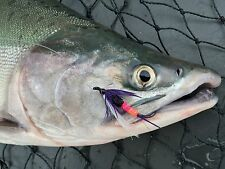 Saltwater Fly Fishing Flies (Steelhead, Salmon, Trout) Henry's Freight Train Fly