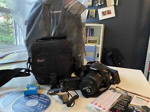 canon eos rebel t3i 18.0mp digital slr camera & lens bundle