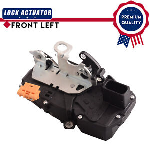 Front Left Driver Door Lock Actuator fit Cadillac CTS 09-14 W/O Passive Entry